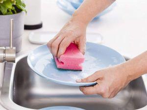 Houbička na nádobí tvarovaná 6,5x9x4 cm 3 ks Smart Cook