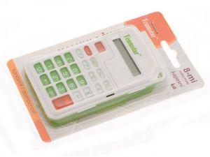 8-mistná kapesní kalkulačka zavírací Teamstar