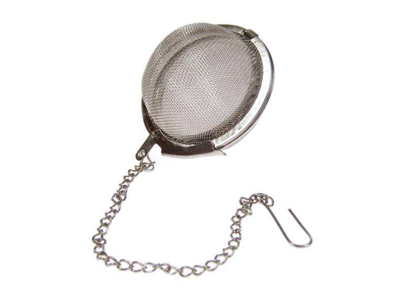 Sítko na čaj / koření z nerez oceli a řetízkem 5 cm Smart Cook