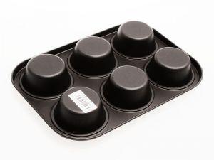 Forma na muffiny 6ks s nepřilnavým povrchem Skandia Smart Cook