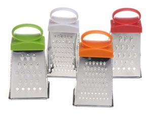 Mini struhadlo nerezové 4-stranné 12,5 cm