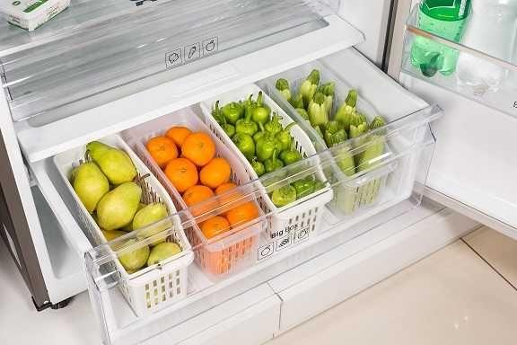 Plastový organizér do lednice 13,5 x 31,5 x 17,5 cm Smart Cook