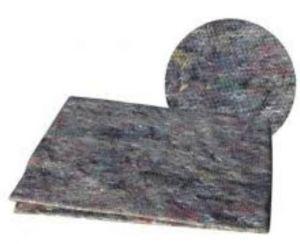 Šedý hadr na podlahu 60 x 50 cm