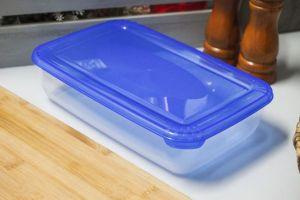 plastová dóza obdélníková s poloprůhledným víkem 3 l Smart Cook