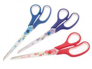 Kancelářské nůžky 23,5 cm s motivem růží