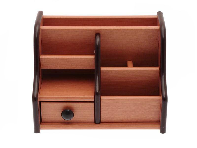 Dřevěný stojan na kancelářské potřeby 20x13x15 cm Teamstar