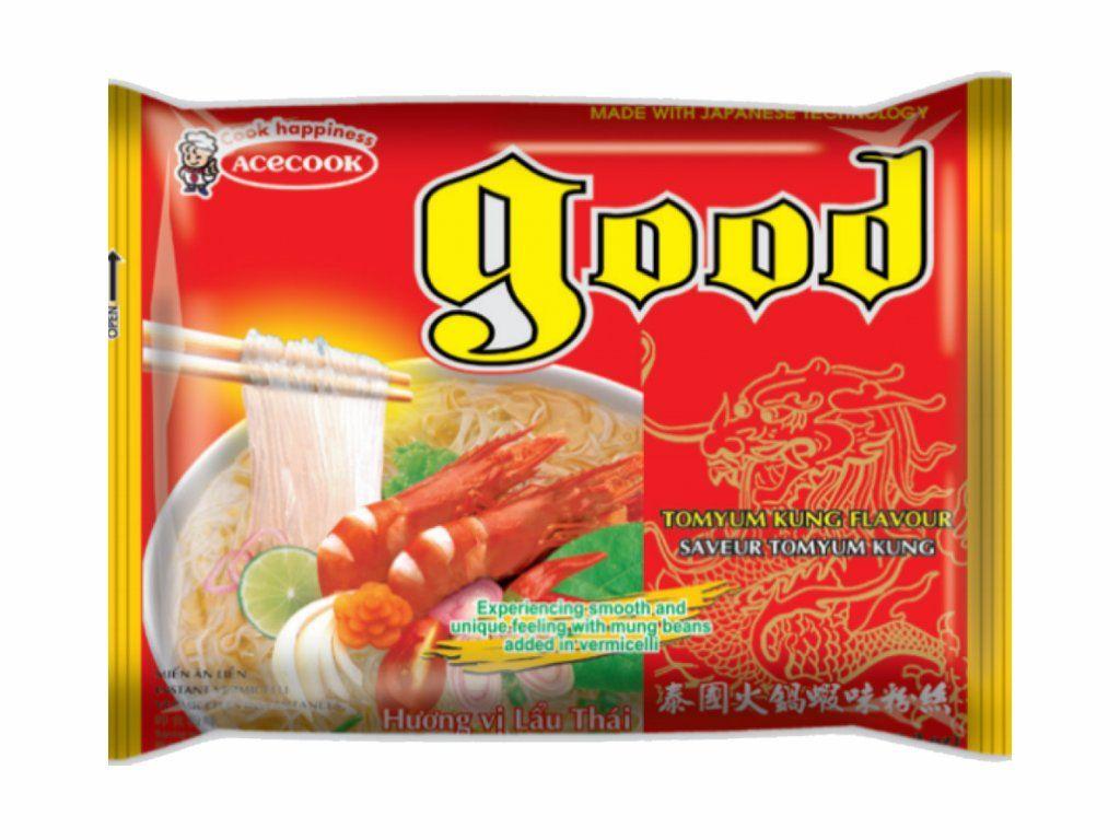 Good instantní skleněné nudle s příchutí krevetovou 60g Acecook Viet Nam
