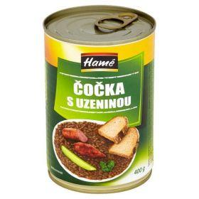 Hamé Čočka s uzeninou, hotové jídlo 400g