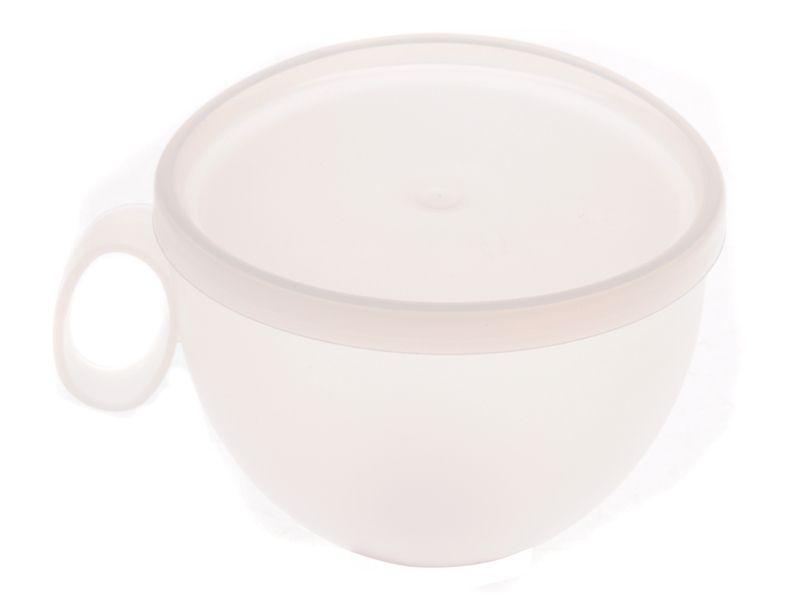 Plastový hrnek 550 ml s víkem Smart Cook