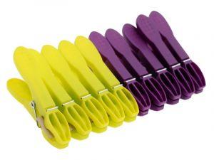 Kolíčky na prádlo 10 ks plastové