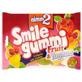 Nimm2 Bonbóny Smile gummi ovoce & jogurt 100g