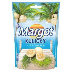 Orion Margot kuličky v bílé čokoládě 120g
