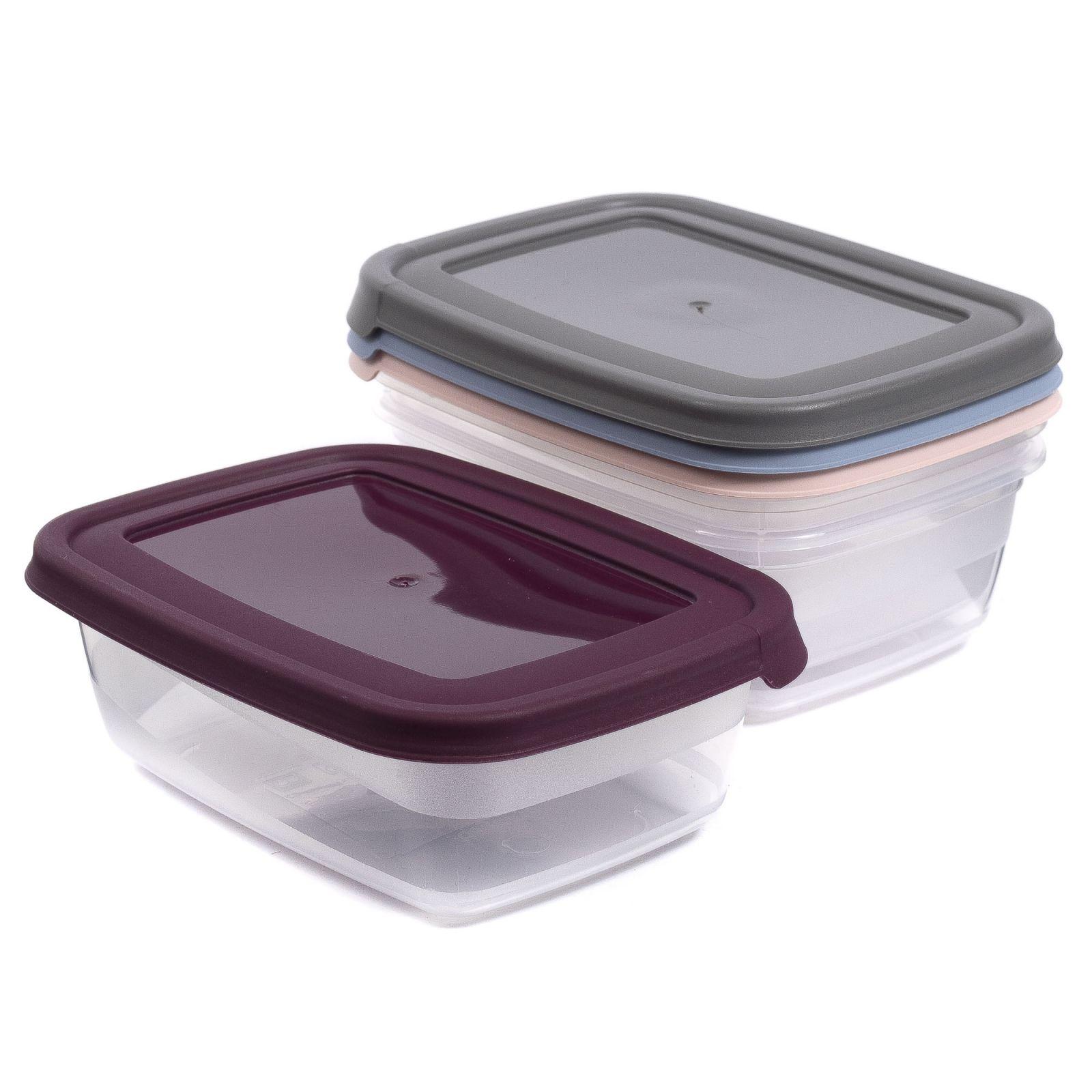 Plastová dóza obdélníková 2L 24,0 x 17,5 x 7,5 cm Smart Cook