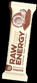 RAW ENERGY tyčinka kokos a kakao, 50 g