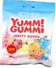 Yummi Gummi SOFTY HIPPOS 100g hrošíci