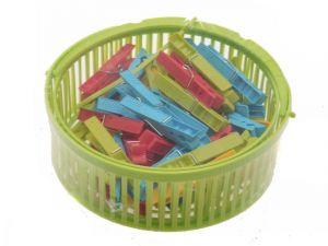 Závěsný košík s kolíčky na prádlo 50ks