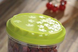 Kulatá dóza na potraviny se závitem Rukkola 1l Smart Cook