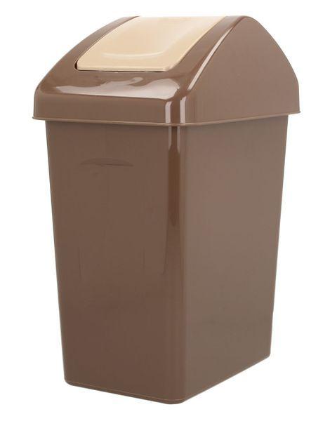Odpadkový koš s výklopným víkem 10 l Unihouse