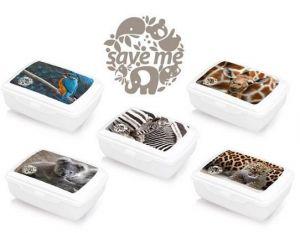 Svačinový box pro děti s potiskem - 1,3l Smart Cook